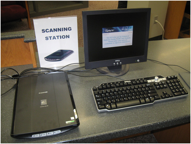 Document Scanning Station