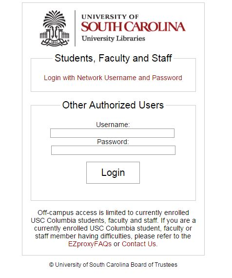 Library: News - University of South Carolina School of ...
